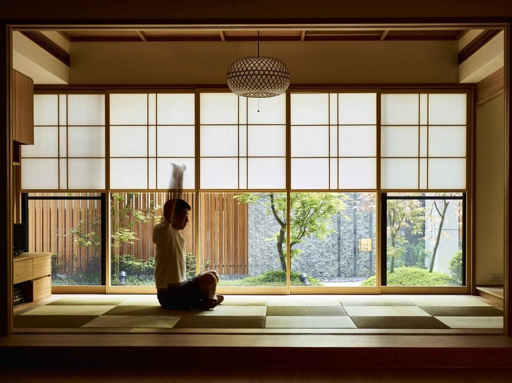 日本旅宿的靜寂氛圍,完美呈現和風框景的多變性